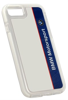 Чехол-накладка BBMW для iPhone 7/8 Motorsport Shockproof Hard PC Navy/White, цвет «синий» (BMHCP7SPVNA) - фото 18541