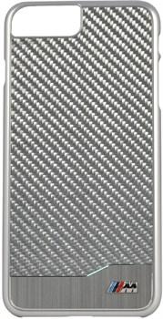 Чехол-накладка BMW для iPhone 7 Plus/8 Plus  M-Collection Aluminium&Carbon Hard, Цвет «Серебрянный » (BMHCP7LMDCS) - фото 18569