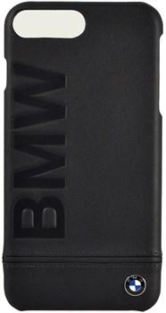 Чехол-накладка BMW для iPhone 7 Plus/8 Plus  Signature Logo imprint Hard Leather,  Цвет «Черный» (BMHCP7LLLSB) - фото 18575