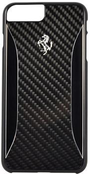 Чехол-накладка Ferrari для iPhone 7 Plus/8 Plus  GT Experience Hard Carbon-Aluminium , Цвет «Черный» (FERCHCP7LBK) - фото 18616