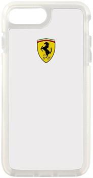 Чехол-накладка Ferrari для iPhone 7 Plus/8 Plus  Shockproof Hard PC Transparent, Цвет «Прозрачный» (FEGLHCP7LTR) - фото 18622