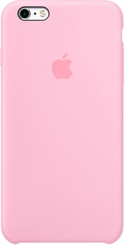 Оригинальный силиконовый чехол-накладка Apple для iPhone 6/6s Plus цвет «светло-розовый» (MM6D2ZM/A) - фото 19661