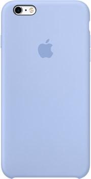 Оригинальный силиконовый чехол-накладка Apple для iPhone 6/6s Plus цвет «васильковый» (MM6A2ZM/A) - фото 19671
