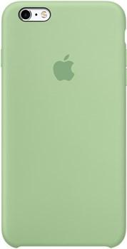 Оригинальный силиконовый чехол-накладка Apple для iPhone 6/6s Plus цвет «мятный» (MM692ZM/A) - фото 19681