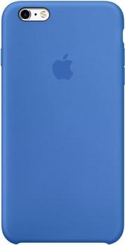 Оригинальный силиконовый чехол-накладка Apple для iPhone 6/6s Plus цвет «Кобальт» (MM6E2ZM/A) - фото 19691