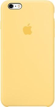 Оригинальный силиконовый чехол-накладка Apple для iPhone 6/6s Plus цвет «Абрикосовый» (MM6F2ZM/A) - фото 19699