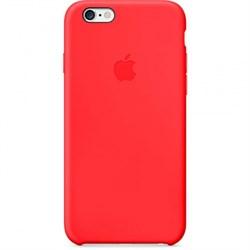 ОРИГИНАЛЬНЫЙ КОЖАНЫЙ ЧЕХОЛ-НАКЛАДКА APPLE ДЛЯ IPHONE 6 ЦВЕТ «Красный» (MGQH2ZM/A) - фото 20240