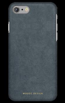 Чехол-накладка Moodz для iPhone 7/8 Alcantra Hard Steel Цвет: Серый (MZ656067) - фото 20598