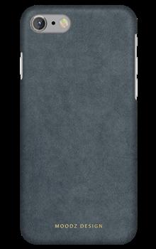 Чехол-накладка Moodz для iPhone 7/8 Nubuck Hard Coffe Цвет: Коричневый (MZ656078) - фото 20599