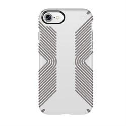 """Чехол-накладка Speck Presidio Grip для iPhone 7/8,  цвет """"белый/серый"""" (79987-5728) - фото 20736"""