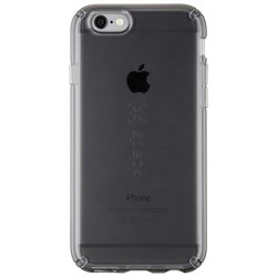 "Чехол-накладка Speck CandyShell Clear для iPhone 6/6s, цвет ""прозрачный/черный"" (73684-5446) - фото 20740"