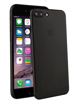 Чехол-накладка Uniq для iPhone 7 Plus/8 Plus  Bodycon Translucent (Цвет: Чёрный) - фото 20886