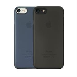 """Набор из двух чехлов-накладок Ozaki 0.3 Jelly для iPhone 7/8,  цвет черный""""+""""тёмно-синий"""" (OC720KD) - фото 21015"""