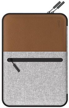 "Чехол-сумка на молнии LAB.C Pocket Sleeve для ноутбука до 13"", цвет ""коричневый"" (LABC-450-BR) - фото 21025"