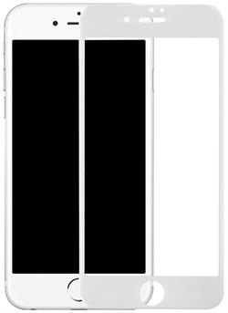 """Защитное стекло Ainy Tempered Glass 2.5D Full Screen Cover 0.33mm для iPhone 6/6s (Защита до скругления, цвет """"белый"""") - фото 21067"""