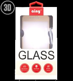 Защитное стекло Ainy Tempered Glass 2.5D 0.2 мм для iPhone 7 Plus (Весь экран, 3D, золотой) - фото 21102