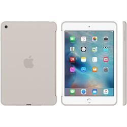"Накладка Apple Silicone Case для iPad mini 4, цвет ""бежевый"" (MKLP2ZM/A) - фото 21452"