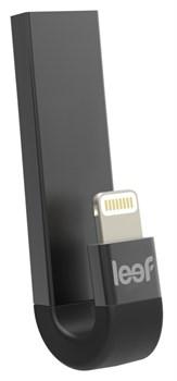 """Флэш-память Leef iBridge 3 128Гб USB 3.1 - Lightning, цвет """"черный"""" (LIB3CAKK128R1) - фото 22182"""