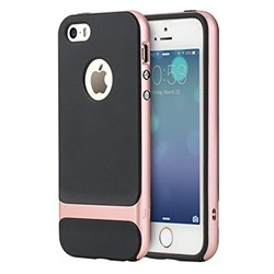 "Чехол-накладка Rock Royce Case для iPhone 5/5s/SE, цвет ""розовое золото"" - фото 22266"