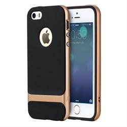 """Чехол-накладка Rock Royce Case для iPhone 5/5s/SE, цвет """"золотой"""" - фото 22277"""
