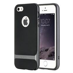 "Чехол-накладка Rock Royce Case для iPhone 5/5s/SE, цвет ""темно-серый"" - фото 22296"