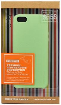 "Чехол-накладка Uniq для iPhone SE/5S Outfitter Green, цвет ""зеленый"" (IPSEHYB-OFTRGRN) - фото 22347"
