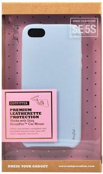 "Чехол-накладка Uniq для iPhone SE/5S Outfitter Pastel blue, цвет ""Светло-голубой (IPSEHYB-PASBLU) - фото 22362"
