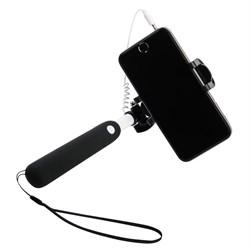"""Монопод Noosy Mini Cable Selfie Stick (цвет """"черный"""") - BR07 - фото 22737"""