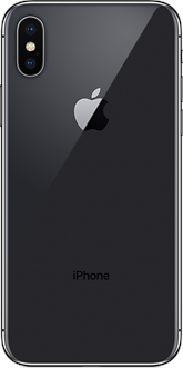Apple iPhone X 256 Gb Space Gray (серый) A1901 MQAF2 оф. гарантия Apple - фото 22873