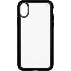 Чехол Speck Presidio Show для iPhone X (цвет прозрачно-черный) - фото 23101