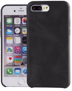 Чехол-накладка Uniq для iPhone 7 Plus/8 Plus  Outfitter Black (vintage) (Цвет: Чёрный) - фото 23236