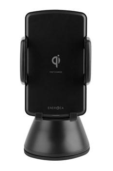 """Автомобильный держатель с функцией беспроводного зарядного устройства EnergEA WiMount Fast Wireless, цвет """"черный"""" (WIMOUNT-FC) - фото 23341"""