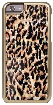 "Чехол-накладка iCover iPhone 6/6s Mother of Pearl 01, дизайн ""леопард"" (IP6/4.7-MP-GD/LP01) - фото 23510"