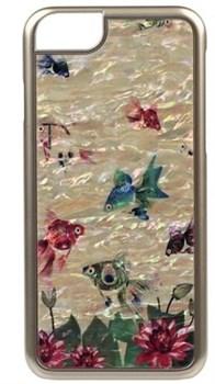 "Чехол-накладка iCover iPhone 6/6s Mother of Pearl 06, дизайн ""рыбки"" (IP6/4.7-MP-GD/GF) - фото 23524"