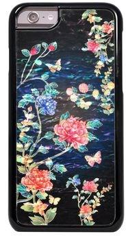 "Чехол-накладка iCover iPhone 6/6s Plus Mother of Pearl, дизайн ""цветы"" (IP6/5.5-MP-BK/PT04) - фото 23564"