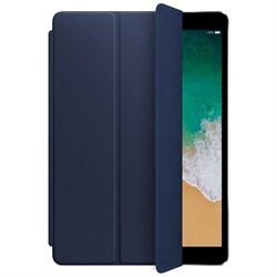 """Чехол-обложка кожаная Apple Smart Cover для iPad Pro 10.5"""", цвет """"темно-синий"""" (MPUA2ZM/A) - фото 23717"""