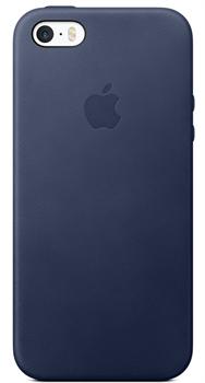 Чехол-накладка  силиконовый для iPhone 5/5s/SE цвет «Синий» (MKX32FE) - фото 23873