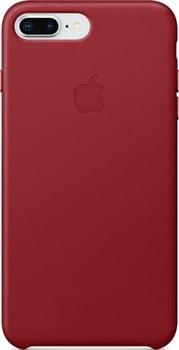 Оригинальный кожаный чехол-накладка Apple для iPhone 7 Plus/8 Plus, цвет «красный» (MQHN2ZM/A) - фото 23995