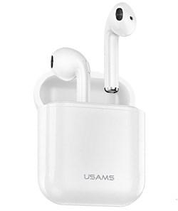 Беспроводные Bluetooth наушники USAMS  F10 (цвет: Белый) - фото 24147