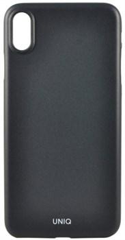"""Чехол-накладка Uniq Bodycon 0.3 для iPhone XS/X, """"Черный"""" (IPXHYB-BDCBLK) - фото 24377"""