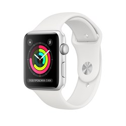 """Apple Watch Series 3 38mm """"Silver"""" - фото 24432"""