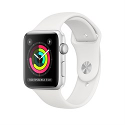 "Apple Watch Series 3 42mm ""Silver"" - фото 24463"