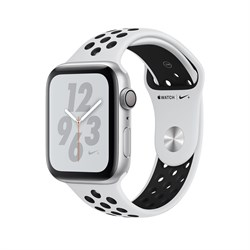 "Apple Watch Series 4 Nike+ 40mm ""Чёрно-Белый"" (Панда) (с перфорацией) - фото 24526"
