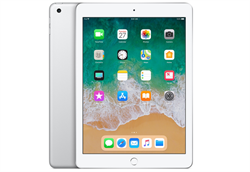 "Apple iPad 9.7""; Wi-Fi 32 ГБ, ""Silver"" - фото 24676"