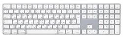 """Клавиатура Apple Magic Keyboard with NumPad, """"White"""" (MQ052RS/A) - фото 24700"""