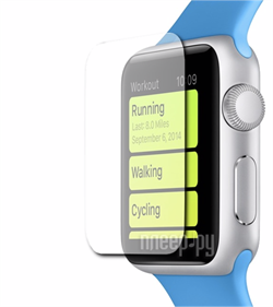Защитная пленка Ainy Apple Watch 42mm (Глянцевая) (AC-A667) - фото 25358