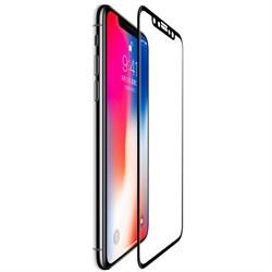 Защитное стекло Ainy 0,2 mm для iPhone X, Цвет: Черный (Весь экран 3D) (AF-A995A) - фото 25360