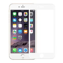 """Защитное стекло Ainy Full Screen Cover 0.2 мм для iPhone 7/8 (Матовое, Защищает весь экран 3D, цвет """"белый"""") - фото 25402"""