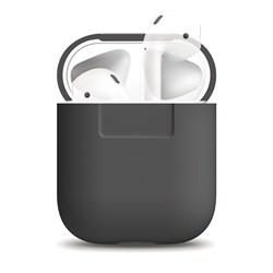 Чехол Elago для AirPods Silicone case (Серый) (EAPSC-DGY) - фото 25454