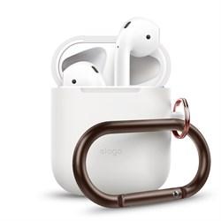 Чехол Elago для AirPods Hang case (Белый) (EAPSC-HANG-WH) - фото 25474